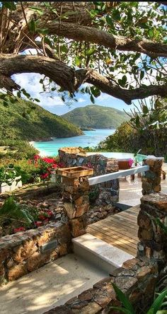 Guana Island Resort - now that's a slice of paradise! Places Around The World, Oh The Places You'll Go, Places To Travel, Places To Visit, Around The Worlds, Vacation Destinations, Dream Vacations, Vacation Spots, Caribbean Vacations