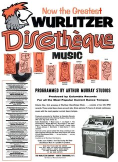 Vintage audio advertising
