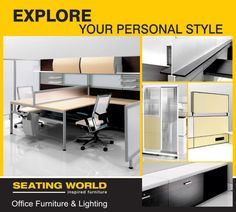 Explore your personal Style....  #OfficeFurniture #OfficeLighting #Hyderabad  SEATING WORLD: Office Furniture and lighting. E-mail: seatingwold@usa.net Sales Contact: office@seatingworldindia.com Ph: +91-40-66667642,66667695