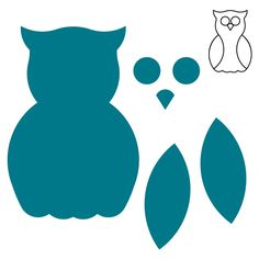 This classic owl shape comes in various sizes that make it easy for teachers and moms wanting to show progression or growth. Use on albums and scrapbook pages as well for an adorable accent and theme.
