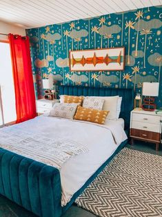 Dazey Desert House - famous midcentury design - Houses for Rent in Palm Springs, California, United States Palm Springs, Next Bedroom, Couple Bedroom, Master Bedroom, 70s Bedroom, Dream Bedroom, Master Suite, Desert House, Bedroom Furniture