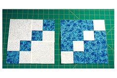 Dual Double Four Patch Quilt Blocks