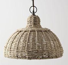 Hanging basket, $1  Jute twine, $1  Embellishments (like buttons), on hand  Crochet hook (helpful!), on hand  Hot glue and glue gun, optional