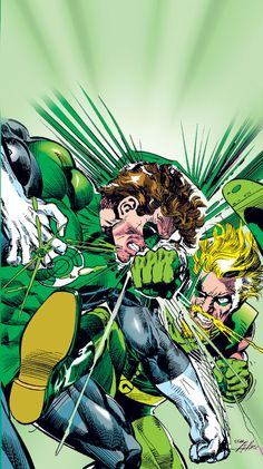 redcell6:  Green Lantern vs Green Arrow by Neal Adams