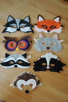 Owl Mask Halloween costume children's mask by littlegiantleap, $24.00