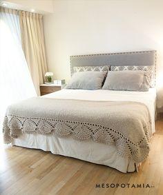 bedroom in gray.