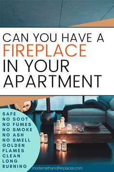 Can I Have A Fireplace In My Condo Or Apartment Can I Have A Fireplace In My Condo Or Apartment Modern Ethanol Fireplaces EthanolFires Ethanol Fireplace Living Room The ethanol nbsp hellip