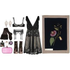 """Passiflora"" by ghoulnextdoor on Polyvore"