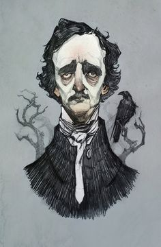 Mr. Poe by AudreyBenjaminsen.deviantart.com on @deviantART ★ || CHARACTER DESIGN REFERENCES (www.facebook.com/CharacterDesignReferences & pinterest.com/characterdesigh) • Love Character Design? Join the Character Design Challenge (link→ www.facebook.com/groups/CharacterDesignChallenge) Share your unique vision of a theme every month, promote your art and make new friends in a community of over 20.000 artists! || ★