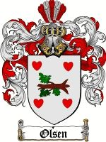 The surname of OLSEN was of Danish and Norwegian origin. It was a baptismal name 'the son of Ole or Olaf'. It was originally derived from th...