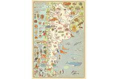 El libro  Atlas del mundo  ofrece un viaje de España a México a través de mapas con curiosidades, animales y personajes
