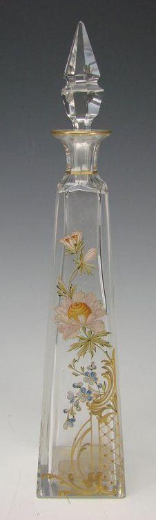 coisasdetere: Vidro de Parfum - França/1890.