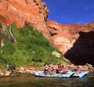 white water rafting at Grand Canyon