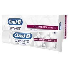 Oral B 3D White Luxe Glamorous White Toothpaste 75ml