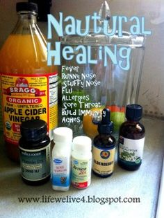 Cure Illness Naturally with home remedies that work