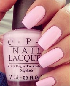 OPI nails are the best very pretty pink Opi Nail Polish, Opi Nails, Nail Polish Colors, Nail Polishes, Pink Polish, Light Pink Nail Polish, Pastel Pink Nails, Dark Pink Nails, Opi Colors