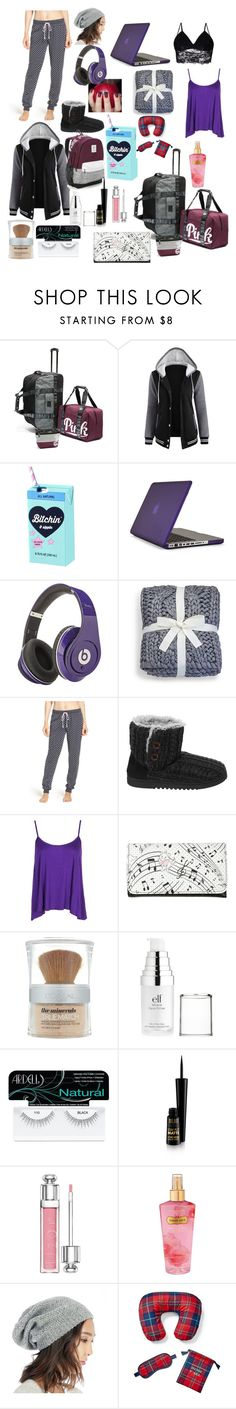 """""""Untitled #123"""" by crystaldieppa ❤ liked on Polyvore featuring Speck, UGG, P.J. Salvage, Dearfoams, Boohoo, Disney, L'Oréal Paris, e.l.f., Ardell and Christian Dior"""