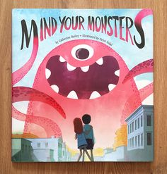 Cute project! Mind Your Monsters on Behance