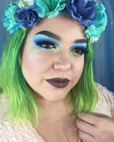 Makeup Inspo, Makeup Inspiration, Brows, Lashes, John Doe, Moon Dust, Strobing, Colorful Makeup, Nyx Cosmetics
