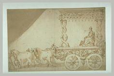 ABATE Nicolo' dell' Ecole lombarde Char de Triomphe de Charles IX