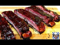 How To Make Chinese BBQ Pork Ribs (Char Siu) - Chinese Food Recipe - YouTube