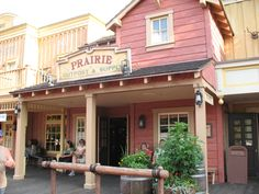 Frontierland signage. Disney World.