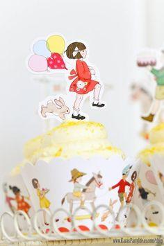 1st birthday- girl - Kara's Party Ideas