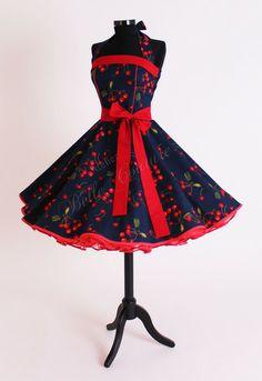 Petticoatkleid 50er Jahre Kleid Art. 61 von Atelier Belle Couture auf DaWanda.com