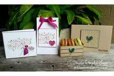 Denita Wright | Stamping Sunday Blog Hop - Wood Textures Suite | Stampin' Up!
