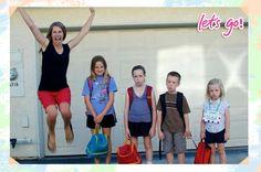 Cuando entres a la escuela, decían. Tu mamá estará muy triste, decían. #cosasdemamás #felicidad #escuela #niños #Let'sGo