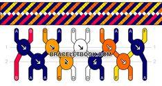 Friendship Bracelet Pattern #16276