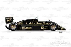 Lotus 98T conducido por Ayrton Senna (1986)