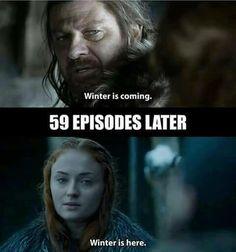 Game of Thrones. #GoT