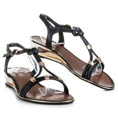 Dámske sandále nízke 568-11B