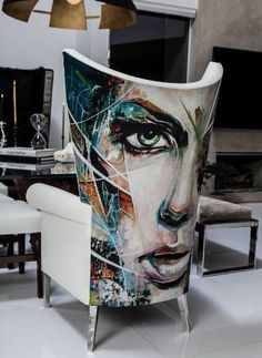 Painted Chair by Danny O'Conner