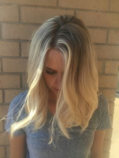 Natural Blonde ombre by me