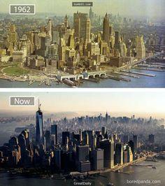 13個讓你「根本認不出它過去長這樣」的世界級繁華大都市,杜拜的今昔對比已經讓人下巴掉了!