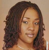 Short Hair Braids For Black Women