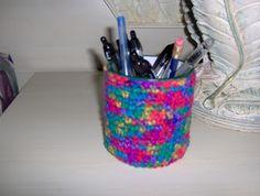 Birdies Crochet and Craft: Pen/Pencil Cup Holder
