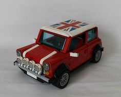 Musings from my garage: Customising the Lego Mini Cooper