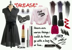 pink ladies grease Rizzo - Google Search