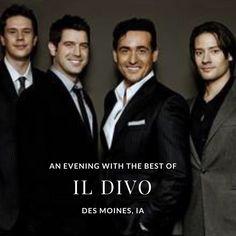 Des Moines are your ready?? Here comes A Night With the Beat of Il Divo! ---------- #wecameheretolove #sebsoloalbum #ildivotour #ildivocruise #teamseb #sebdivo #sifcofficial #ildivofansforcharity #sebastien #izambard #sebastienizambard #ildivo #ildivoofficial #singer #band #musician #music #composer #producer #artist #charityambassador #instagood #instamusic#anightwiththebestofildivo #carlosmarin #ursbuhler #davidmiller