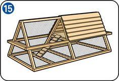 Construire un poulailler - Sol du poulailler