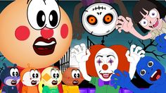 Anpanman Toy Animation Scare with a haunted house, and Anime Characters