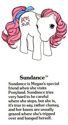 My Little Pony Sundance fact file ...
