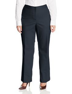 Rafaella Women's Plus-Size Straight-Leg Pant ** For more information, visit image link. (This is an affiliate link) #WomenKhakiPants