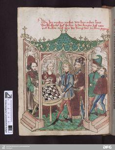 Schachzabelbuch - Cod.poet.et phil.fol.2 Konrad von Ammenhausen Hagenau 1467 [58]25v