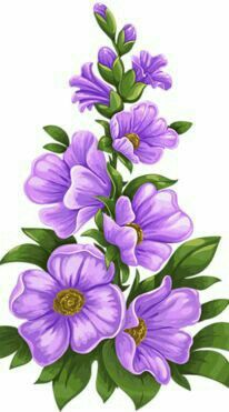 morning glory coloring pages One Stroke Painting, Tole Painting, Fabric Painting, Painting & Drawing, Art Floral, Fabric Paint Designs, Decoupage, Purple Flowers, Exotic Flowers
