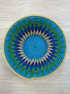Sisal Basket 16-17cm [#20] - Just Africa Art Gallery and Retail Shop - Buy Handcrafted Art and Gifts from a Reputable Art Dealer