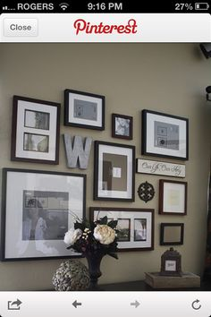 Like the added decor elements (letter W)